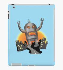 Robot Attack iPad Case/Skin