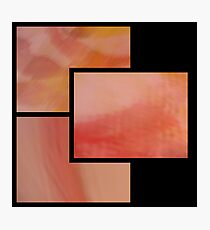 abstract trittico 3 Photographic Print