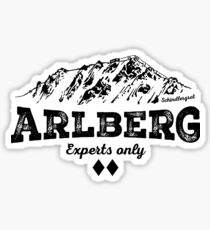 Arlberg Schindlergrat Sticker