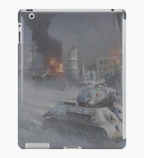 T34 WW2 tank iPad Case/Skin