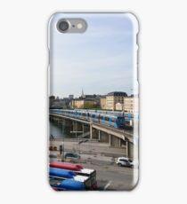 Trains in Stockholm, Sweden iPhone Case/Skin