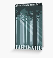 Cabeswater - Where dreams come true Greeting Card
