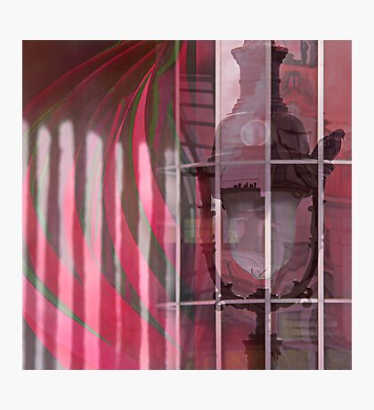 Through rose colored glasses Photographic Print