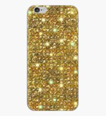 Gold Sequins And Sparkles iPhone Case