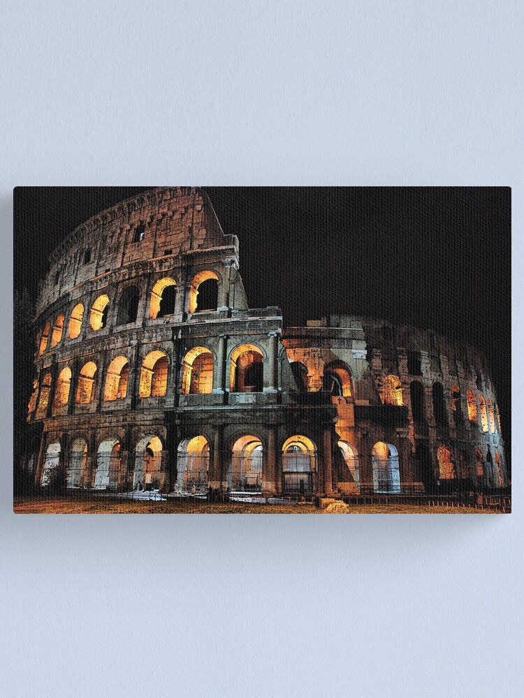 Alternate view of Colosseo Canvas Print