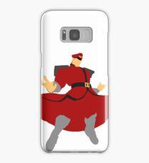 Minimalist M. Bison Samsung Galaxy Case/Skin