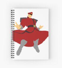 Minimalist M. Bison Spiral Notebook