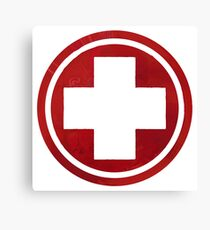 First Aid Symbol Canvas Print