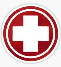 First Aid Symbol Sticker