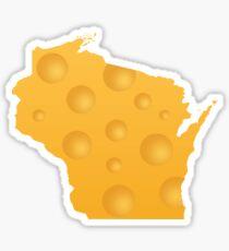 Wisconsin Aged Cheddar Sticker