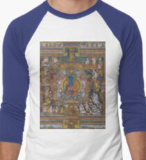 The Medicine Buddha Men's Baseball ¾ T-Shirt