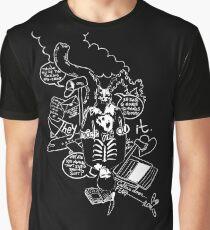 Donnie Darko (Black Background) Graphic T-Shirt