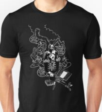 Donnie Darko (Black Background) Unisex T-Shirt