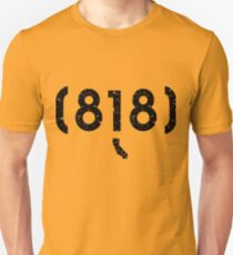 Area Code 818 California T-Shirt