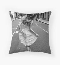 Feminin[c]ity - London Throw Pillow