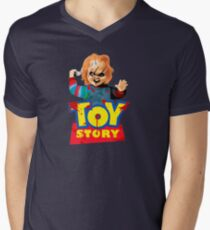 Chucky - A Toy Story (Parody) Men's V-Neck T-Shirt