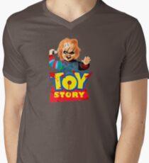 Chucky - A Toy Story (Parody) Men's V-Neck T-Shirt