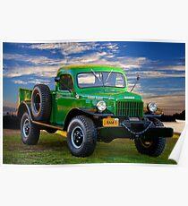 1949 Dodge Power Wagon Ram I Poster