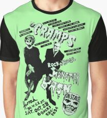 The Cramps - Concert Poster Graphic T-Shirt