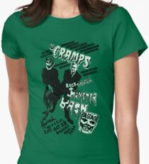 The Cramps - Concert Poster Women's Fitted T-Shirt