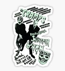 The Cramps - Concert Poster Sticker