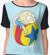 Tommy Pickles from The Rugrats Chiffon Top