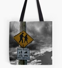 Shared Roadways Tote Bag