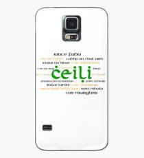 Irish Dance Ceili (Light) Case/Skin for Samsung Galaxy