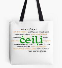 Irish Dance Ceili (Light) Tote Bag