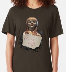 Annabelle the Doll Slim Fit T-Shirt