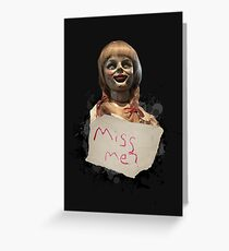 Annabelle the Doll Greeting Card
