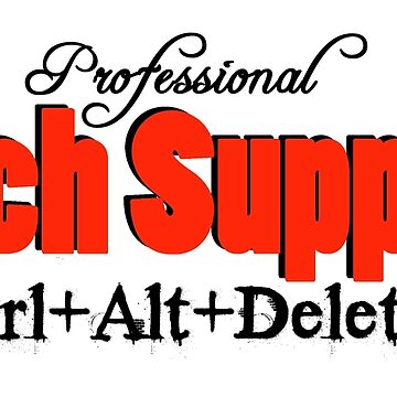 Professional Tech Support Design For Computer Geeks by CiaoBellaLtd