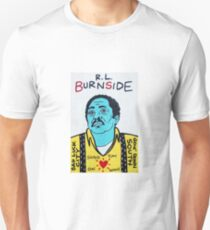 R.L. Burnside Blues Folk Art T-Shirt
