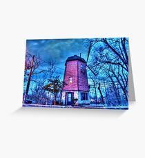 Windmill HDR Greeting Card