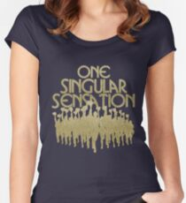 One Singular Sensation | A Chorus Line Fitted Scoop T-Shirt