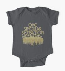 Eine Singular Sensation | Eine Chorus-Linie Baby Body Kurzarm
