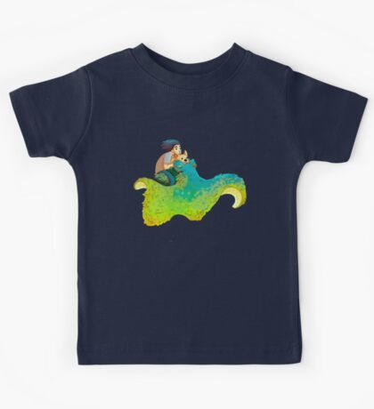 Fluffy SpaceSquid Kids Clothes