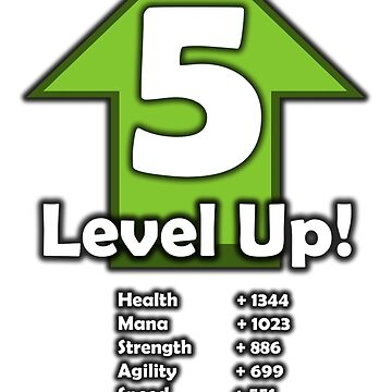 Level Up! - Level 5! by RailstonArtwork