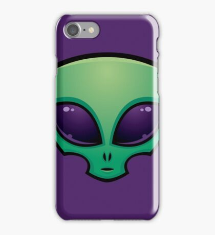 Alien Head Icon iPhone Case/Skin
