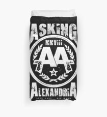Asking Alexandria England Rock N' Roll From Death To Destiny Duvet Cover