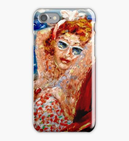 My Day at the Beach iPhone Case/Skin