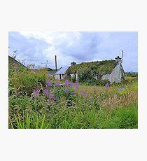 Abandoned Homestead...........................Ireland Photographic Print