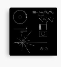 The Voyager Golden Record Canvas Print
