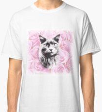 Rosey Cat Classic T-Shirt