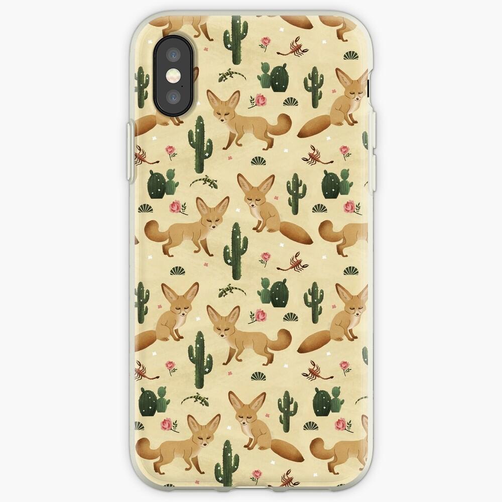 Wüste des Fennec Fox iPhone-Hüllen & Cover