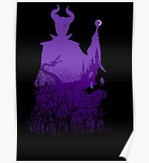 Midnight Maleficent Poster