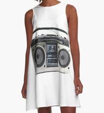 RADIO Boombox A-Line Dress