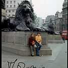 The Story Of My Life . Dr.Andrzej Goszcz. Trafalgar Square is a public square in the City of Westminster, Central London. Anno Domini 1975. by © Andrzej Goszcz,M.D. Ph.D