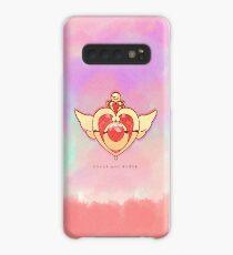 Sailor Moon   Crisis Moon Compact (Phone Case) Hülle & Klebefolie für Samsung Galaxy