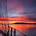 Crimson Sunrise waterscape image by sunnypicsoz